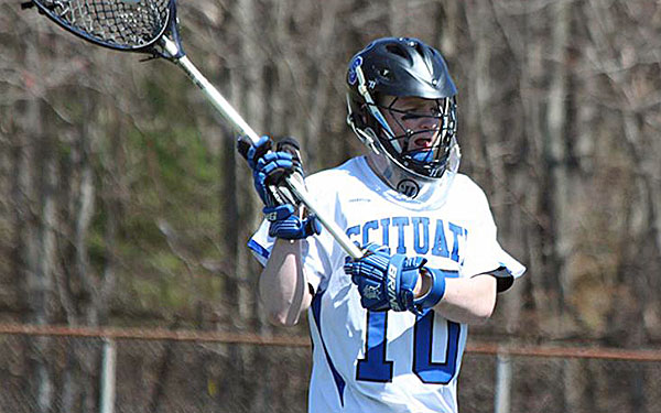 Jake Reynolds played at Scituate (Mass.) from 2011 to 2014 and made 1,065 career saves.