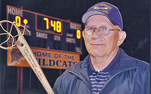 West Genesee (N.Y.) Head Lacrosse Coach Mike Messere is the leader among the New York High School Lacrosse Records.
