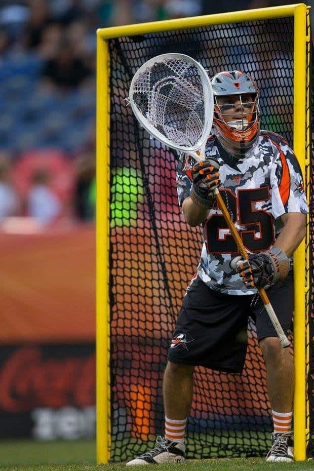 Charlie Cipriano during his Denver Outlaws days.