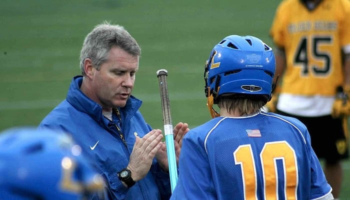 Jack Crawford has stepped down as head coach at Loyola-Blakefield (Md.). (Photo courtesy Loyola-Blakefield).