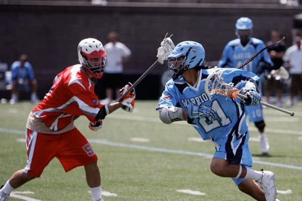 Lyle Thompson (right) was a Warrior 40 selection in 2010.