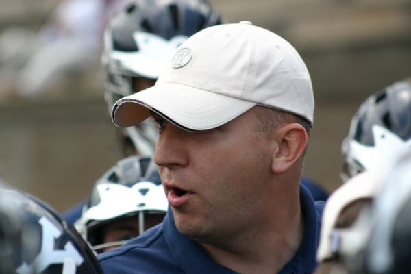 Graham Niemi is the new high school lacrosse coach at Fairfield Prep.
