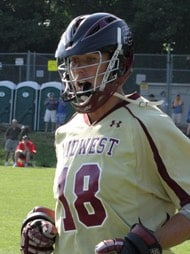 Hayes McGinley is on of the best Ohio Lacrosse Players.