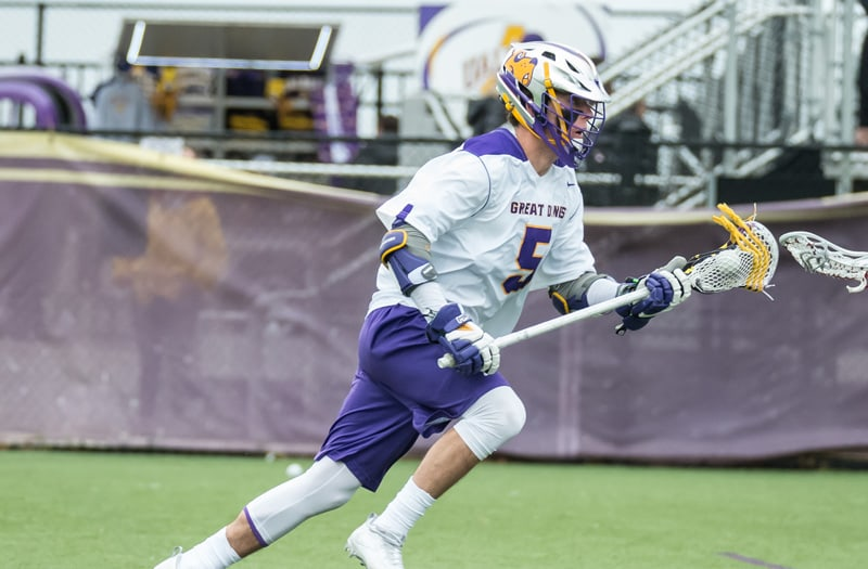 Connor Fields has gone on to star at Albany. Photo courtesy Albany Athletics