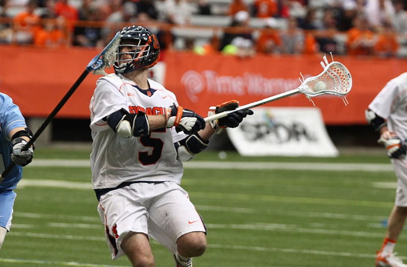 Nicky Galasso played at West Islip (N.Y.) before moving on to UNC and Syracuse.