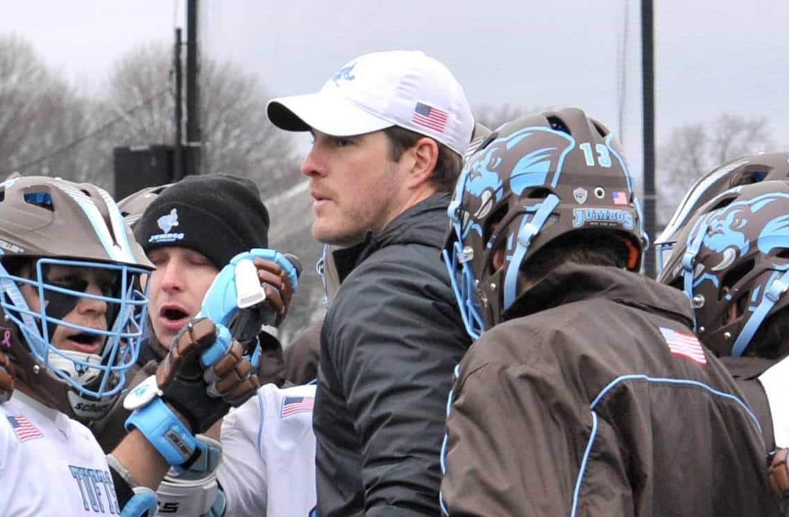Tufts Lacrosse Head Coach Casey D'Annolfo