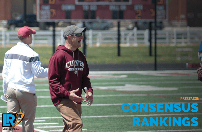 Culver Academy (Ind.) is the Consensus No. 1 team in the nation, heading into the 2018 season.