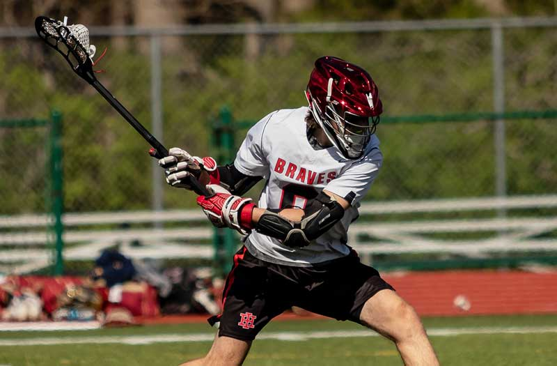 Wyatt Fruland of Indian Hill (Ohio). Photo courtesy Indian Hill lacrosse