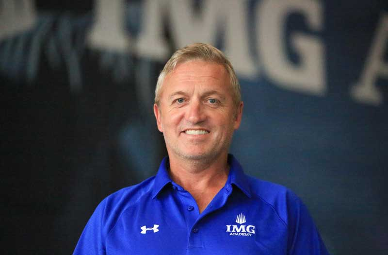 Tom Marecheck is among the lacrosse coaching changes in the 2019 offseason. Photo courtesy IMG Academy